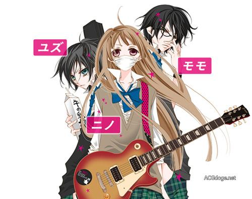早见沙织玩乐队,乐队少女漫画《覆面系 Noise》 TV 动画明年 4 月新番播出-看客路