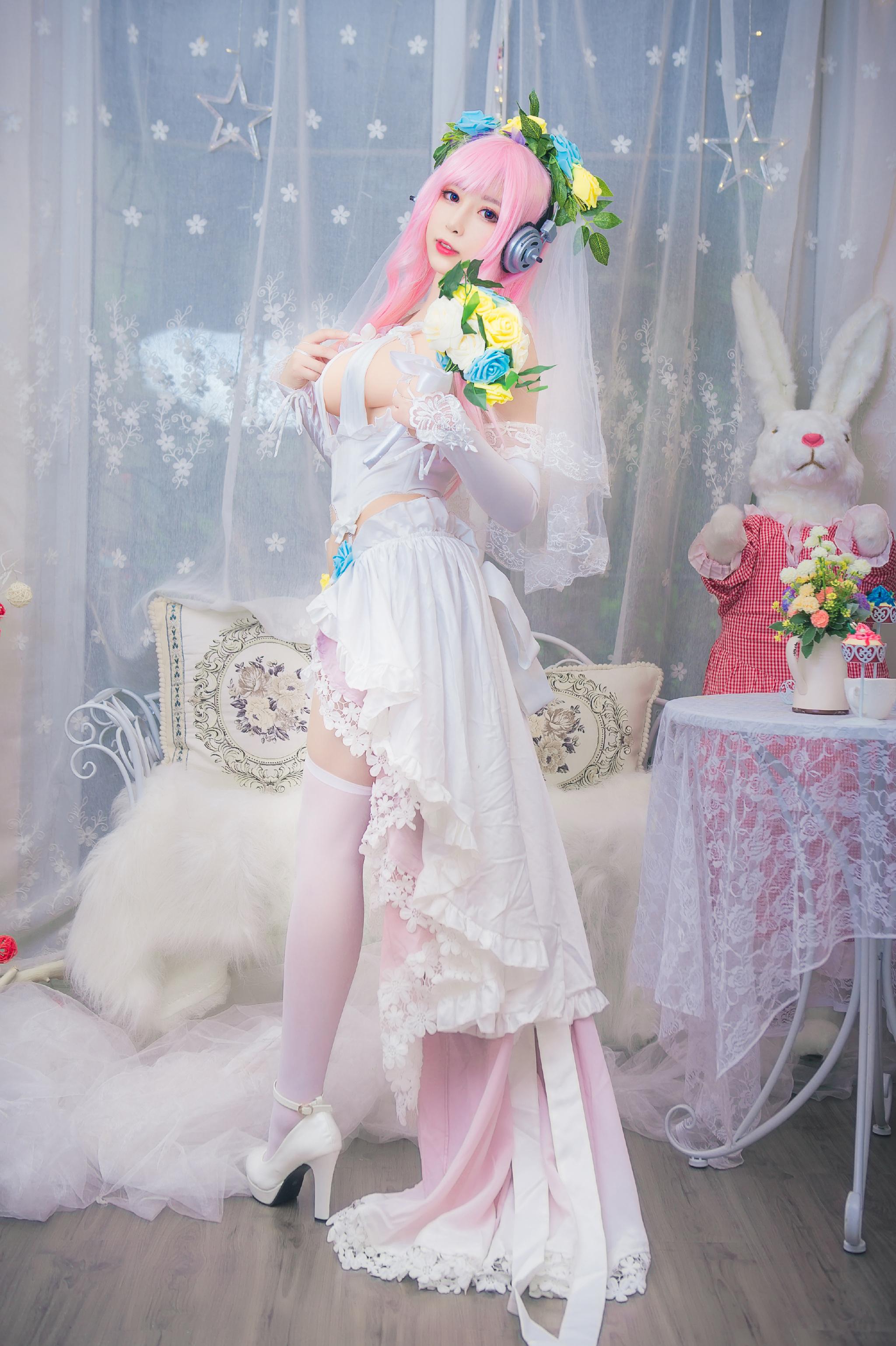 @小酥酱呀的索尼子十周年花嫁婚纱福利(9P)