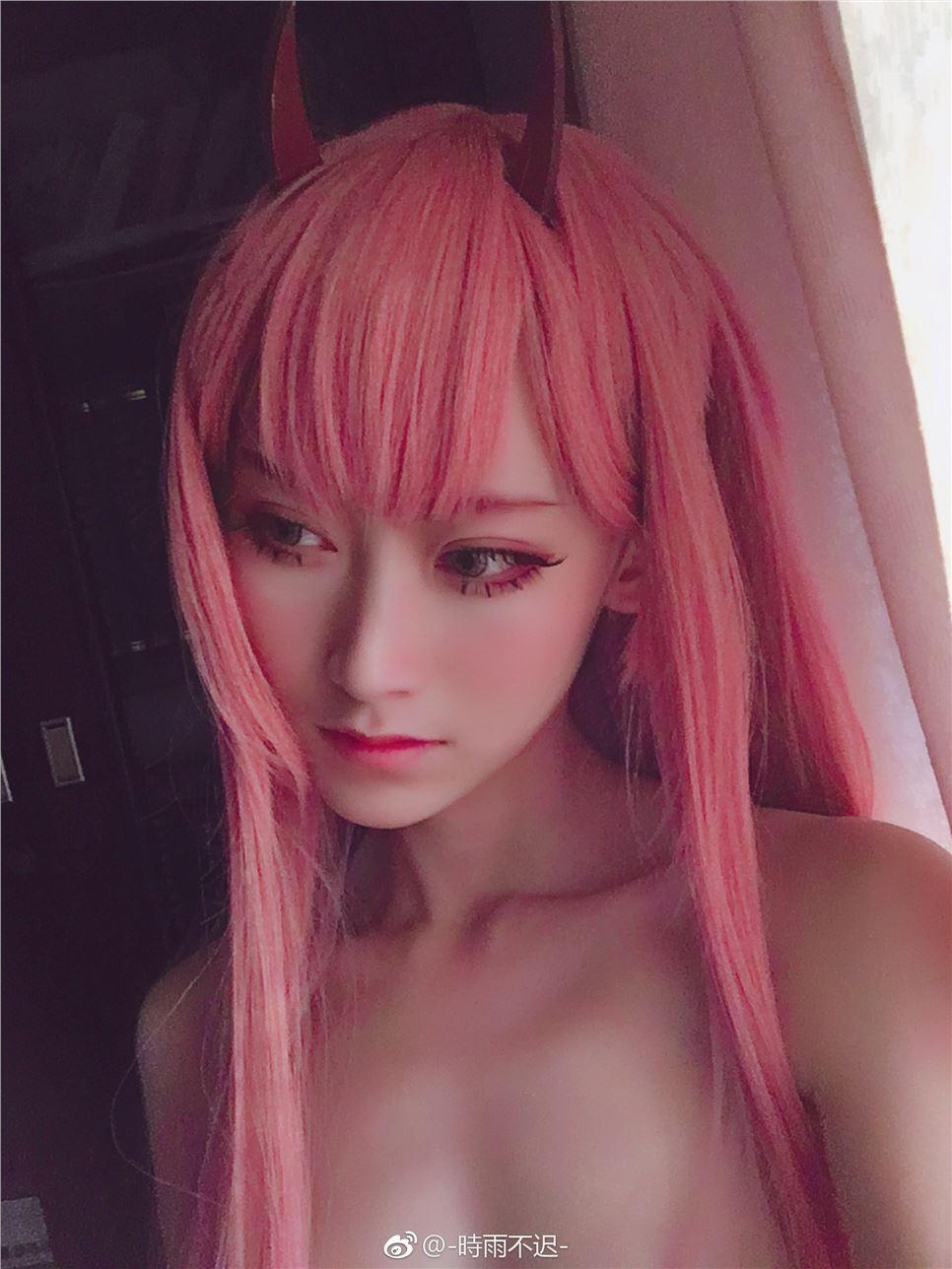 【cosplay】Zero Two Cosplay -时雨不迟-【acgloc】