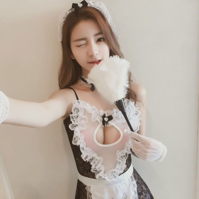 漂亮女神的一组制服秀,你喜欢哪一套? 美女写真-第5张