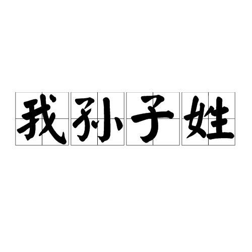 日本有个姓氏叫我孙子-前方高能