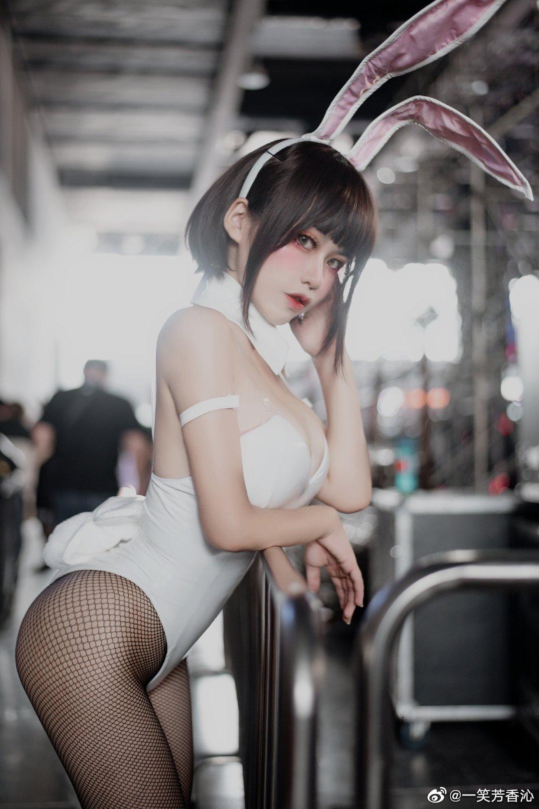 加藤惠兔女郎Cosplay