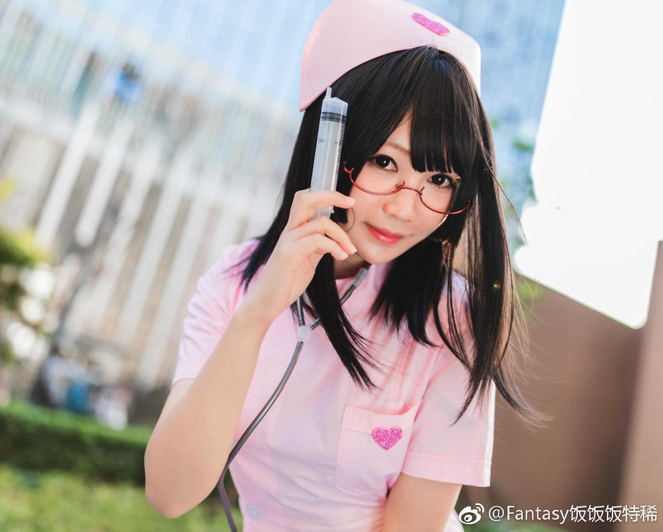 銘銘Kizami的白丝护士服写真(18P)