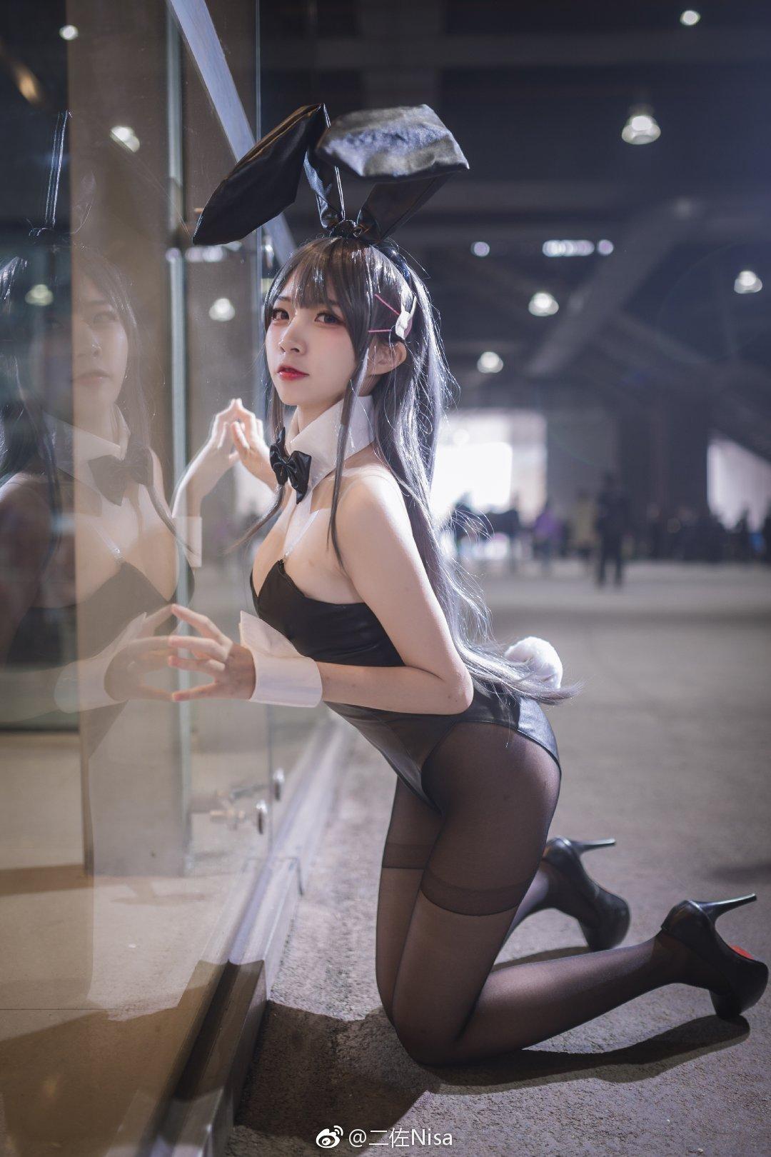 @二佐Nisa的兔女郎漫展照
