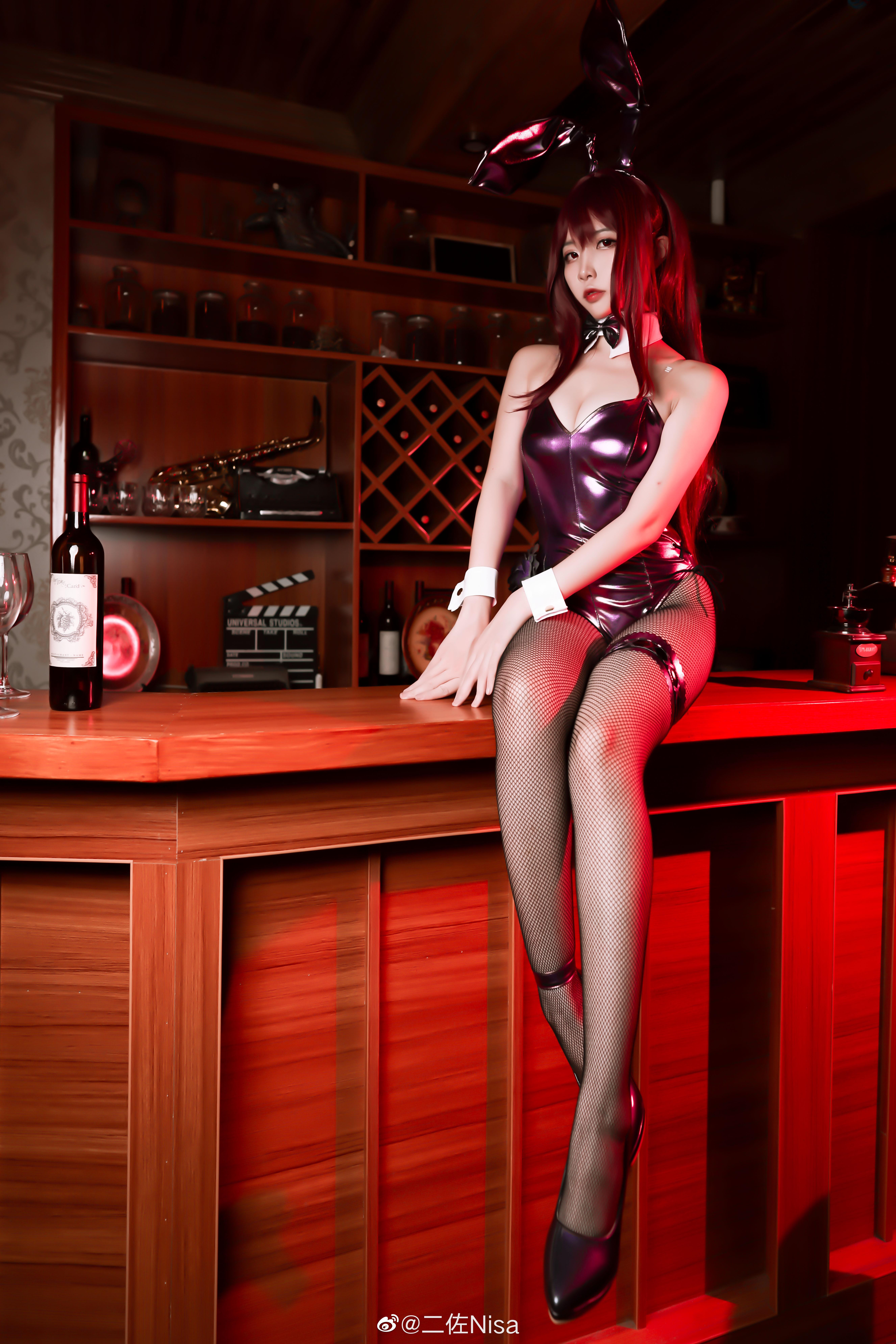 FGO兔女郎cosplay,御主,要一起喝一杯吗?