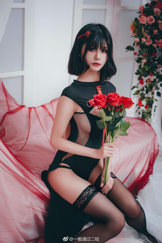 萌系小姐姐的私房写真,侧乳好评 美女写真-第9张