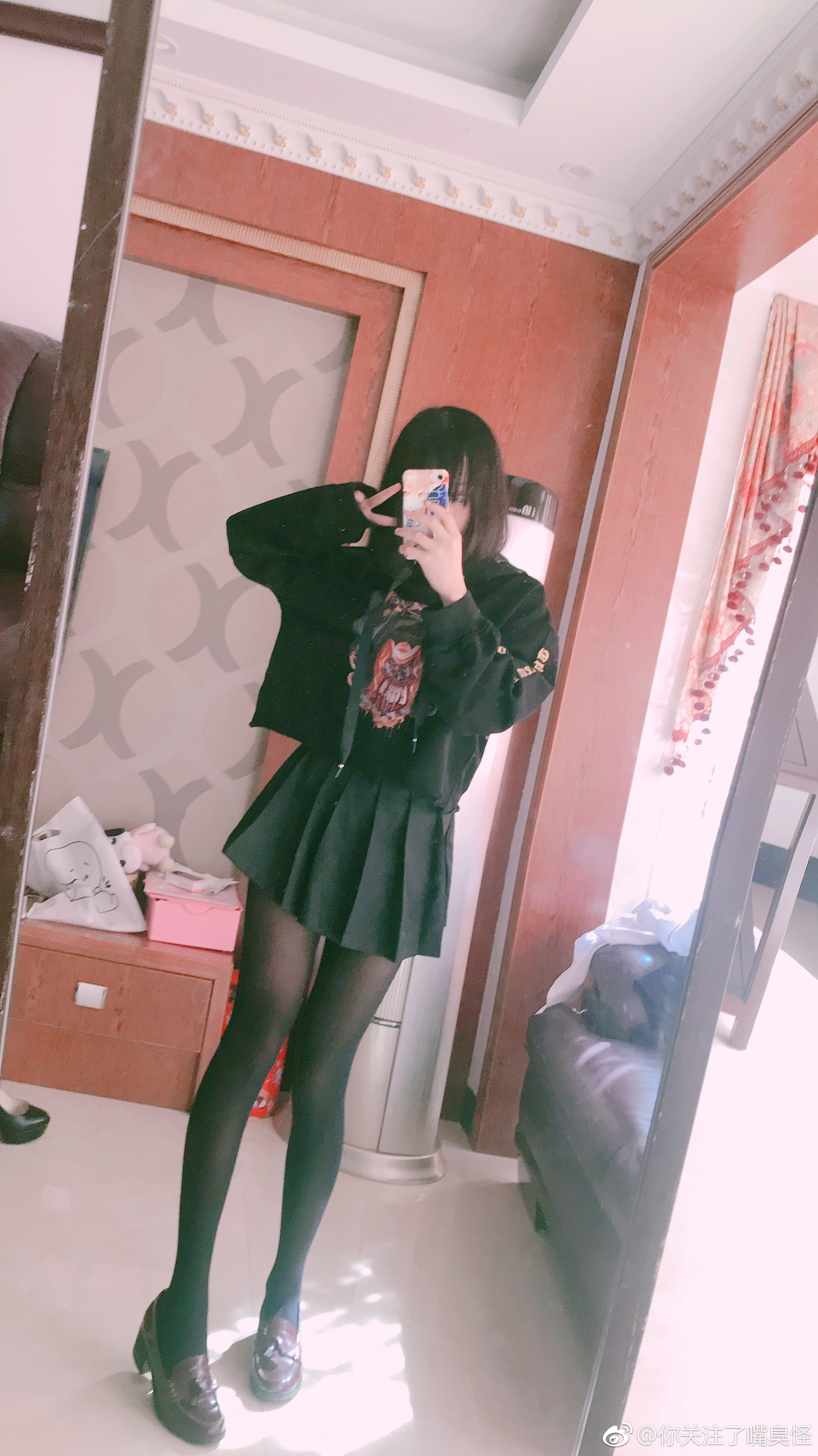 来自妹摄小姐姐的万圣节制服和过膝裤袜(9P)