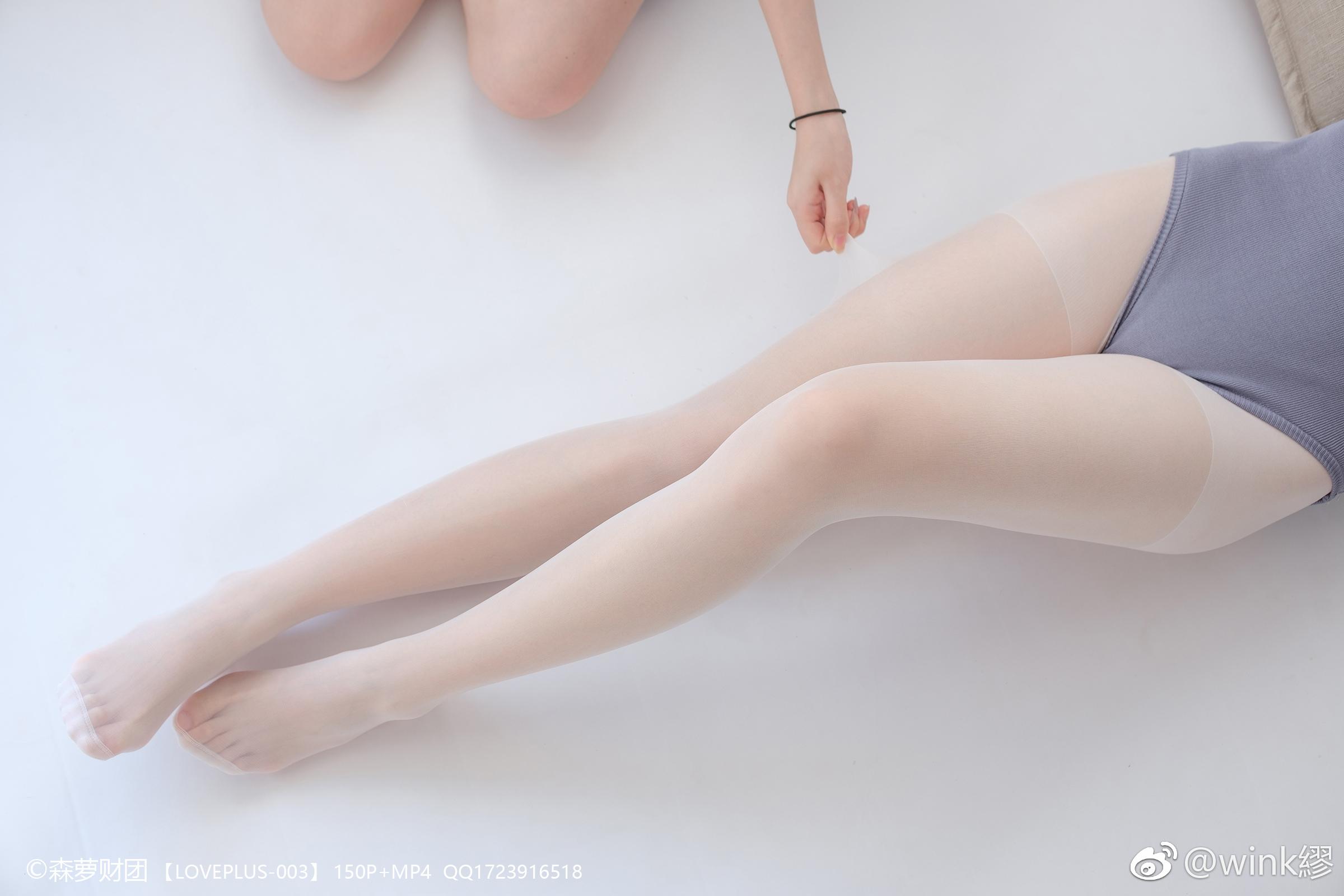 森萝财团丝袜妹子写真:LOVEPLUS-003(9P)