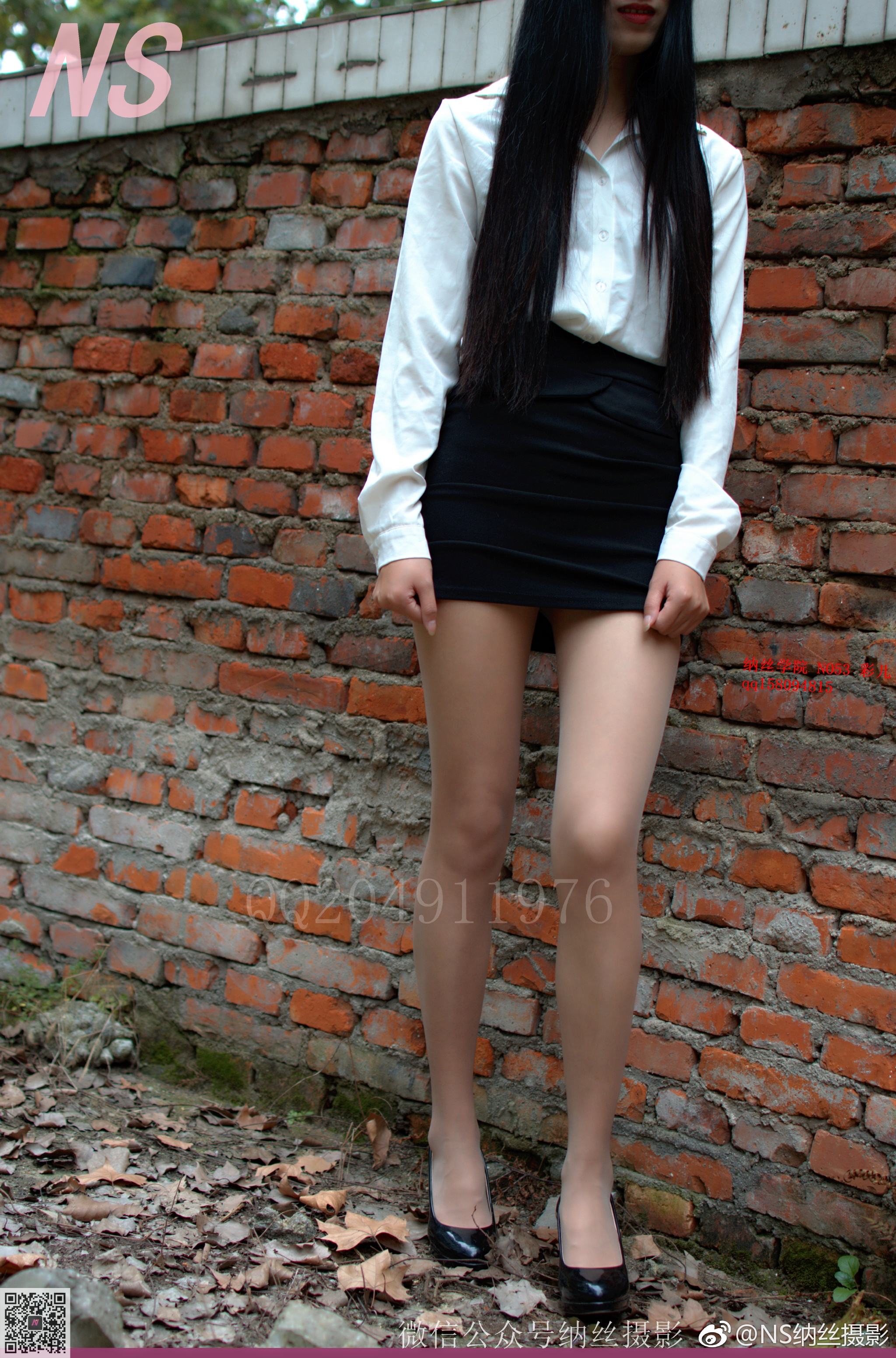 颜值超高的美女丝袜写真机构:NS纳丝摄影(116P)