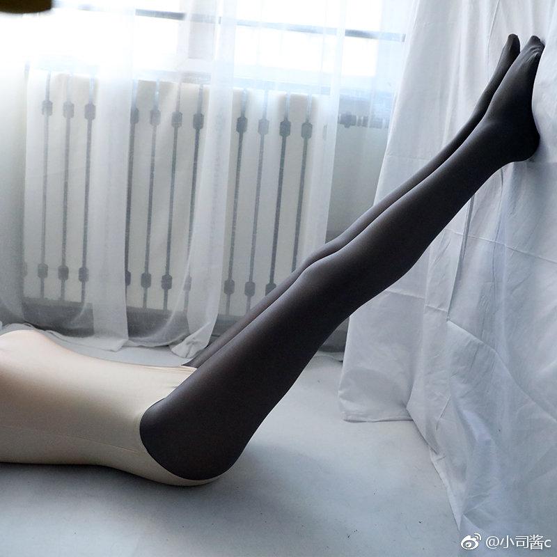 白色死库水配灰色舍宾袜(8P)