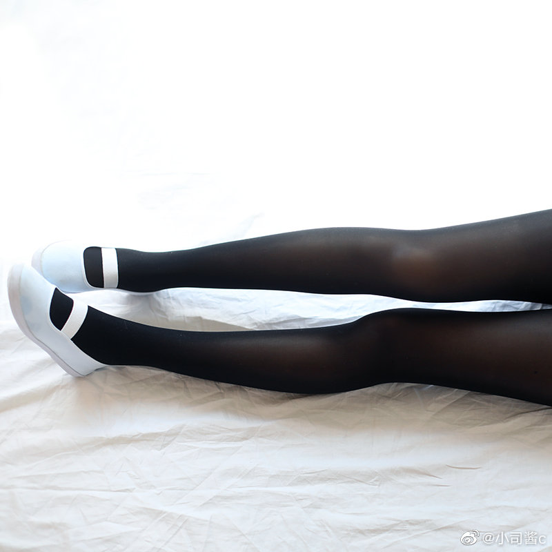 8D高密度黑色丝袜,质感还不错 绅士领域-第2张