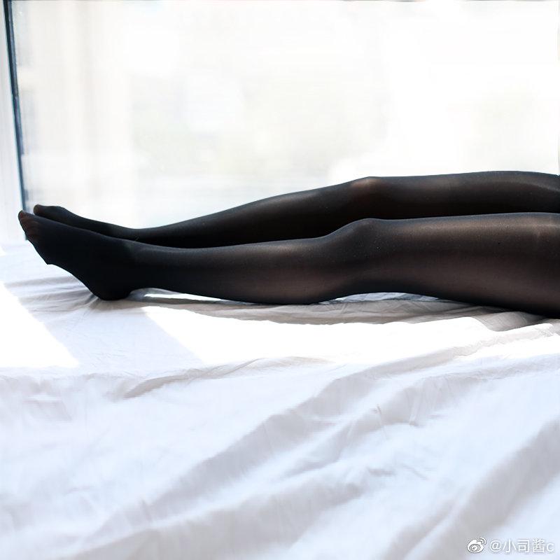 8D高密度黑色丝袜,质感还不错 绅士领域-第6张