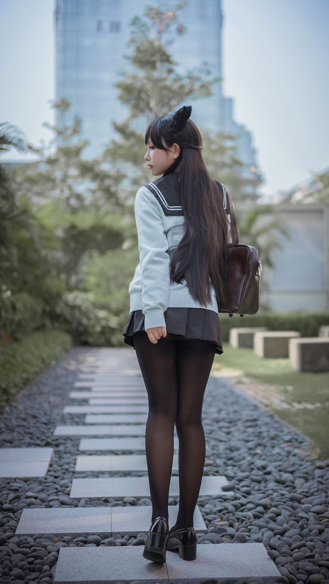 黑丝制服爱宕Cosplay Cosplay-第1张
