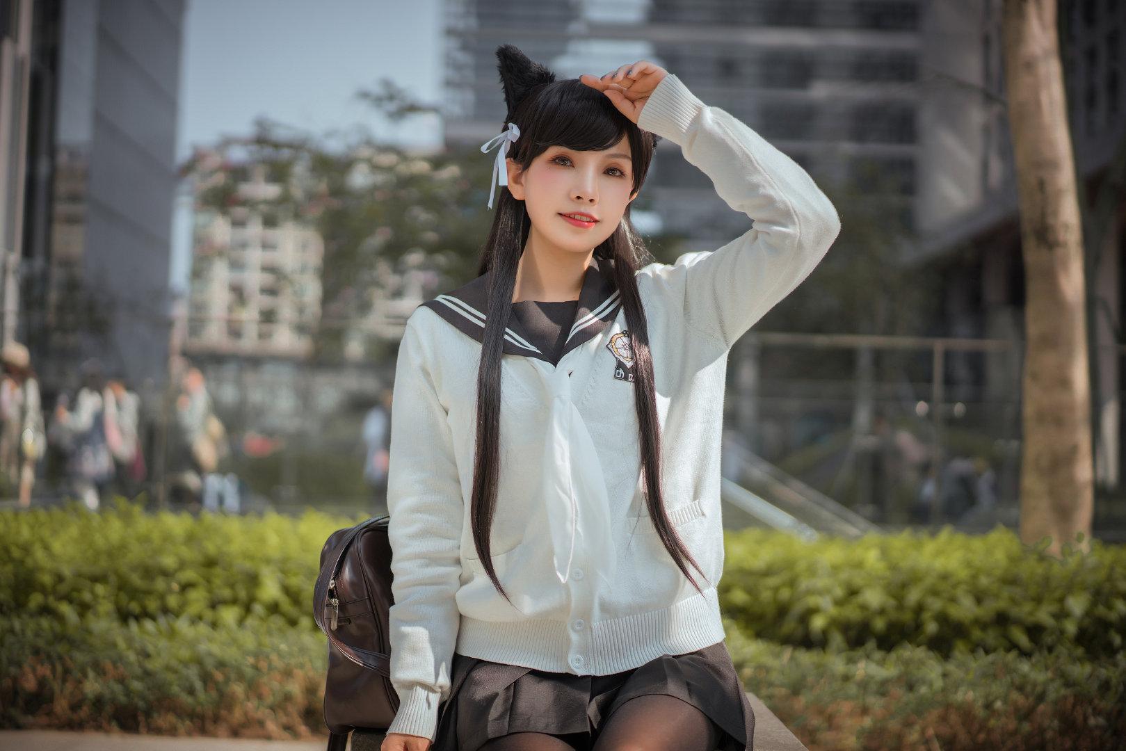 黑丝制服爱宕Cosplay Cosplay-第3张