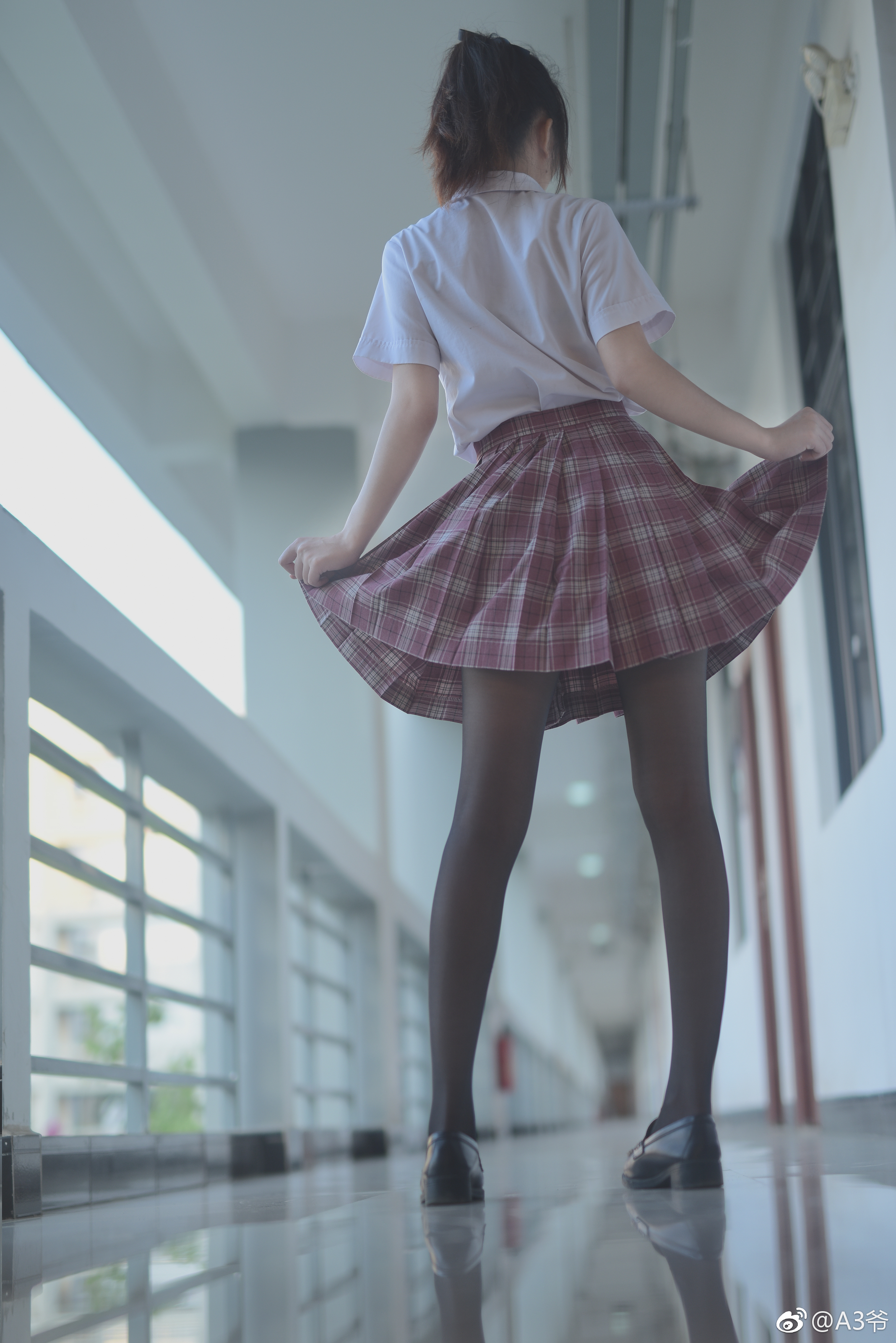 制服萌妹的私影写真,摄影师真棒 美女写真-第5张
