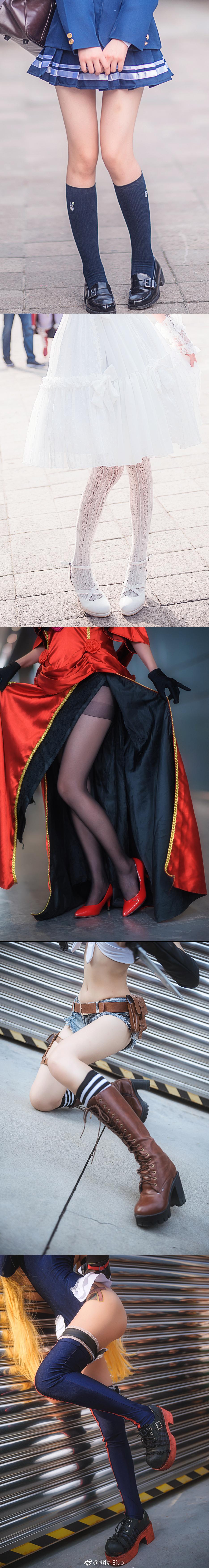 萌妹子丝袜美腿福利图片:漫展上那些诱人的小姐姐们(9P)