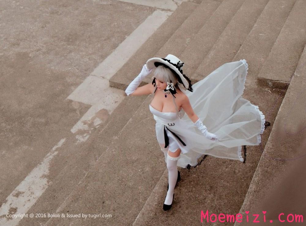 波萝社夏美酱cos写真:碧蓝航线光辉(18P)