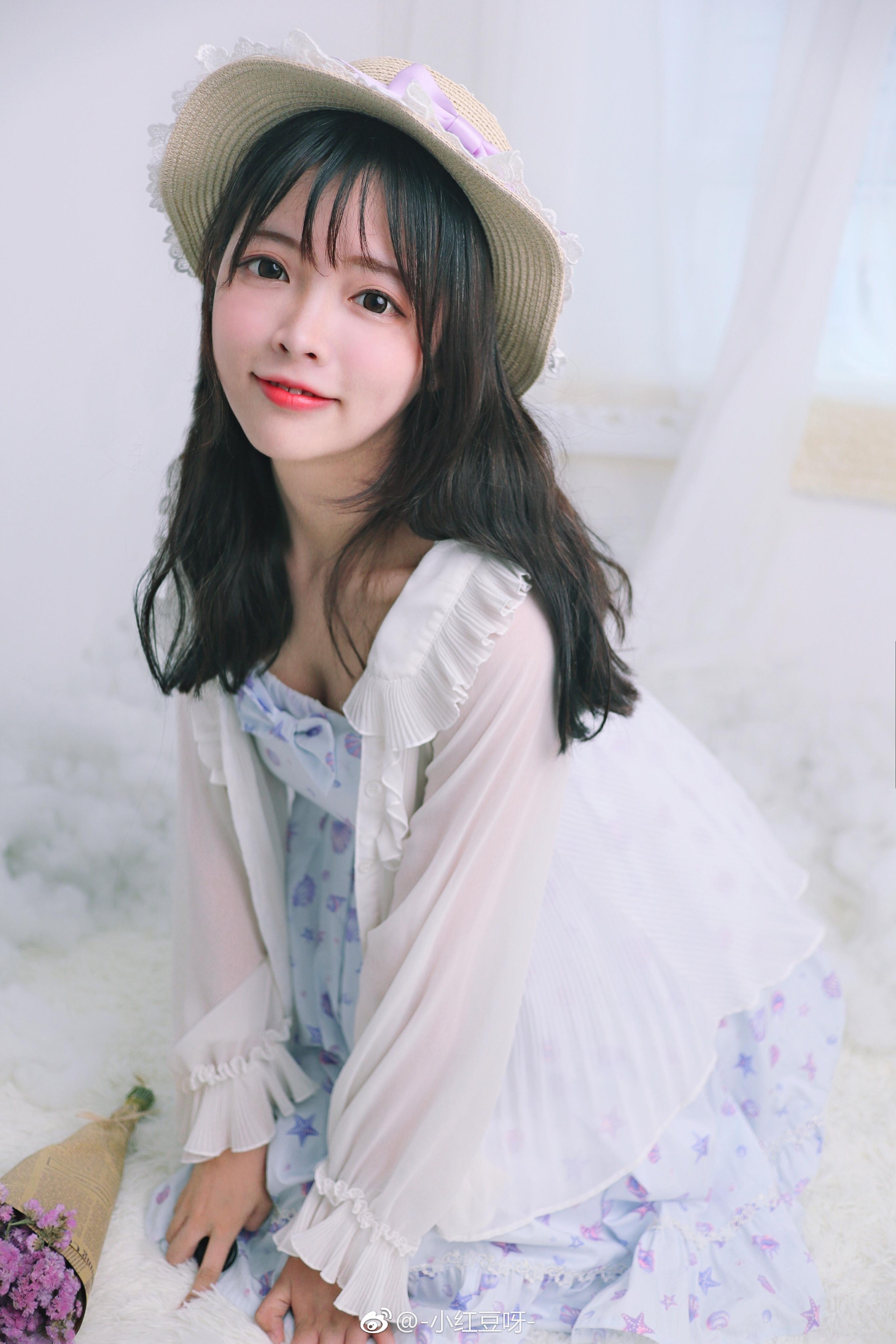真正的萌妹子@小红豆呀,像小仙女一样 美女写真-第6张