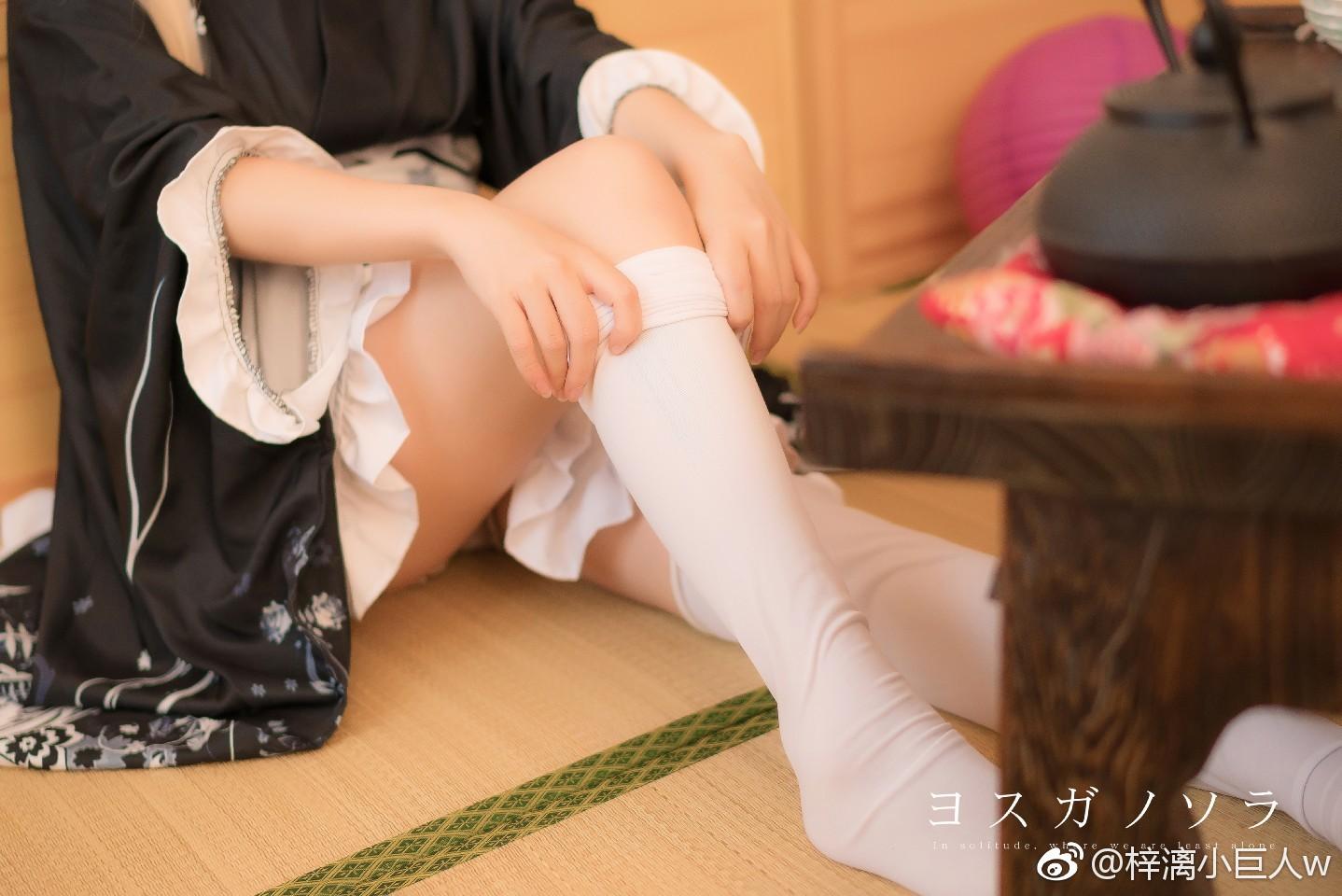【萌妹子网】缘之空穹妹的和服浴衣Cosplay(9P)