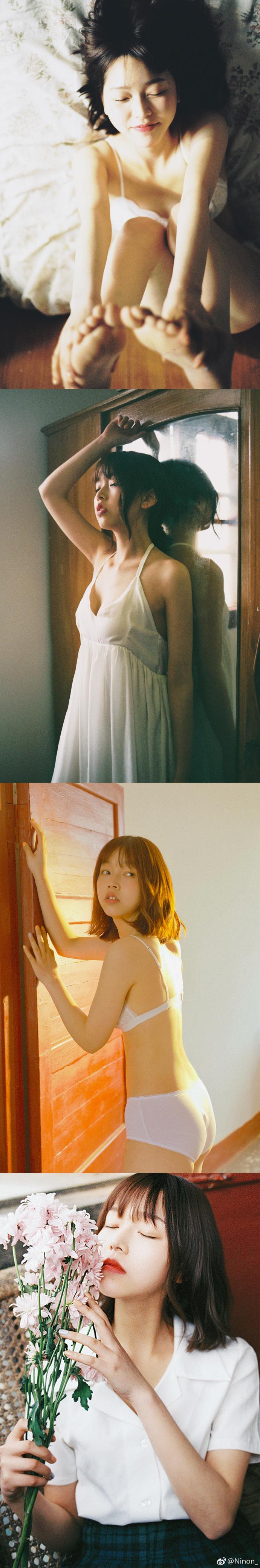 日系唯美少女写真,微博妹子@小早仪18岁纪念(9P)