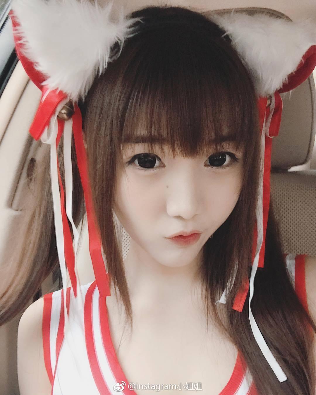 泰国大胸小姐姐alicebambam(含动图)(9P)
