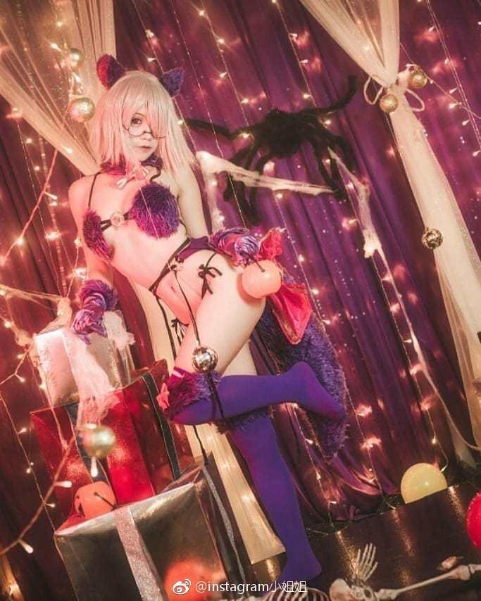 FGO玛修的福利cosplay(9P)