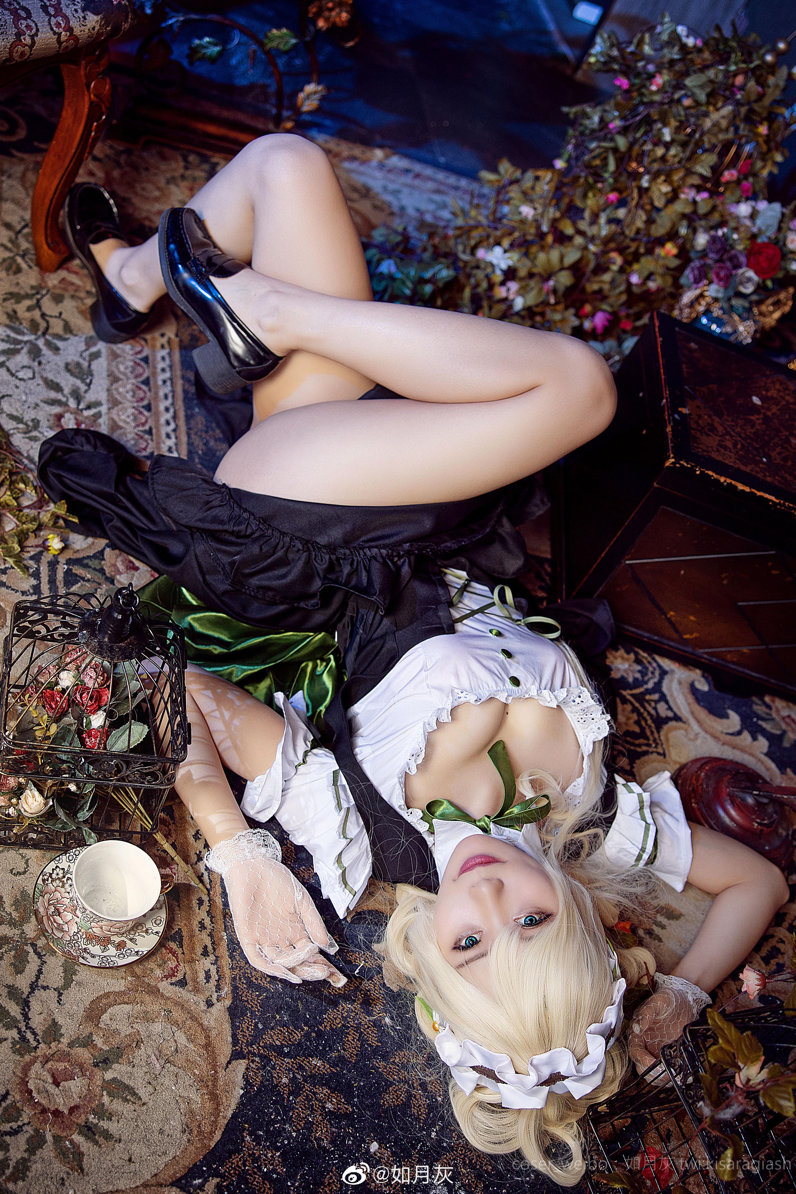 《双生视界》格兰妮女仆Cosplay(9P)