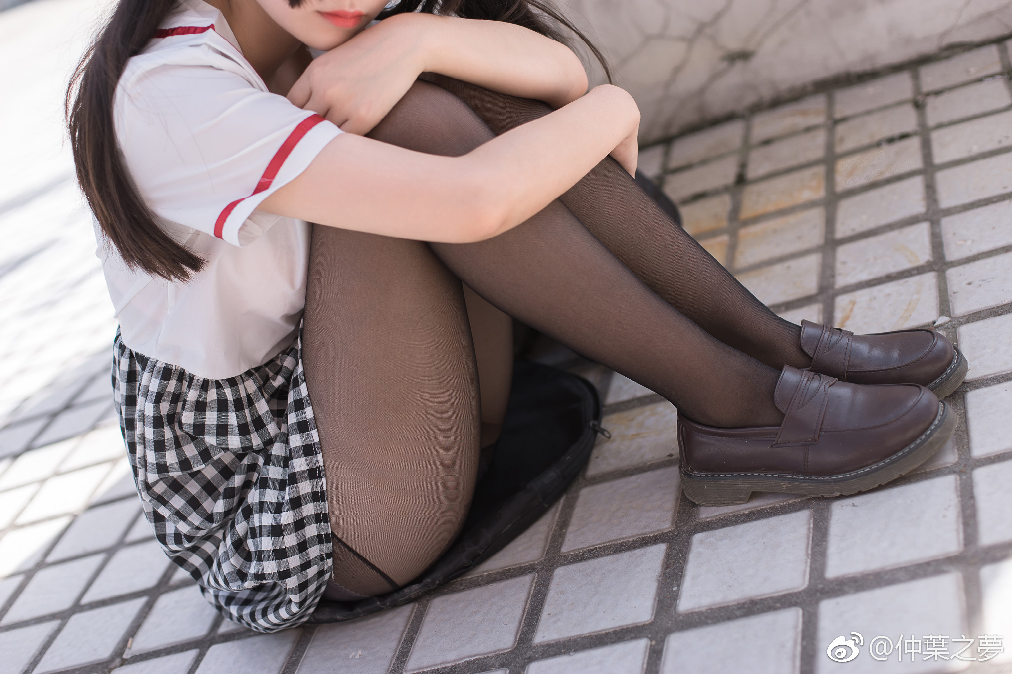 轻兰映画少女丝袜美腿写真:SPL-007(9P)