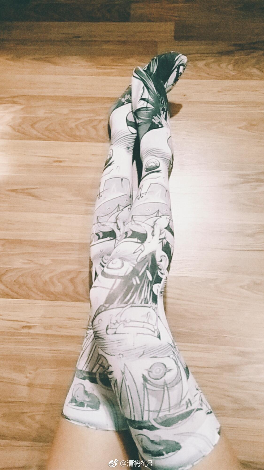 二次元腿控福利:这阿黑颜的袜子欣赏的来吗(9P)