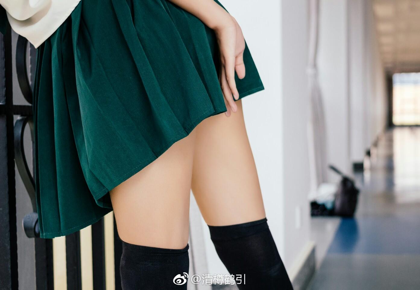 福利腿妹@清樽鹤引的绝对领域(附自爆真相)(15P)