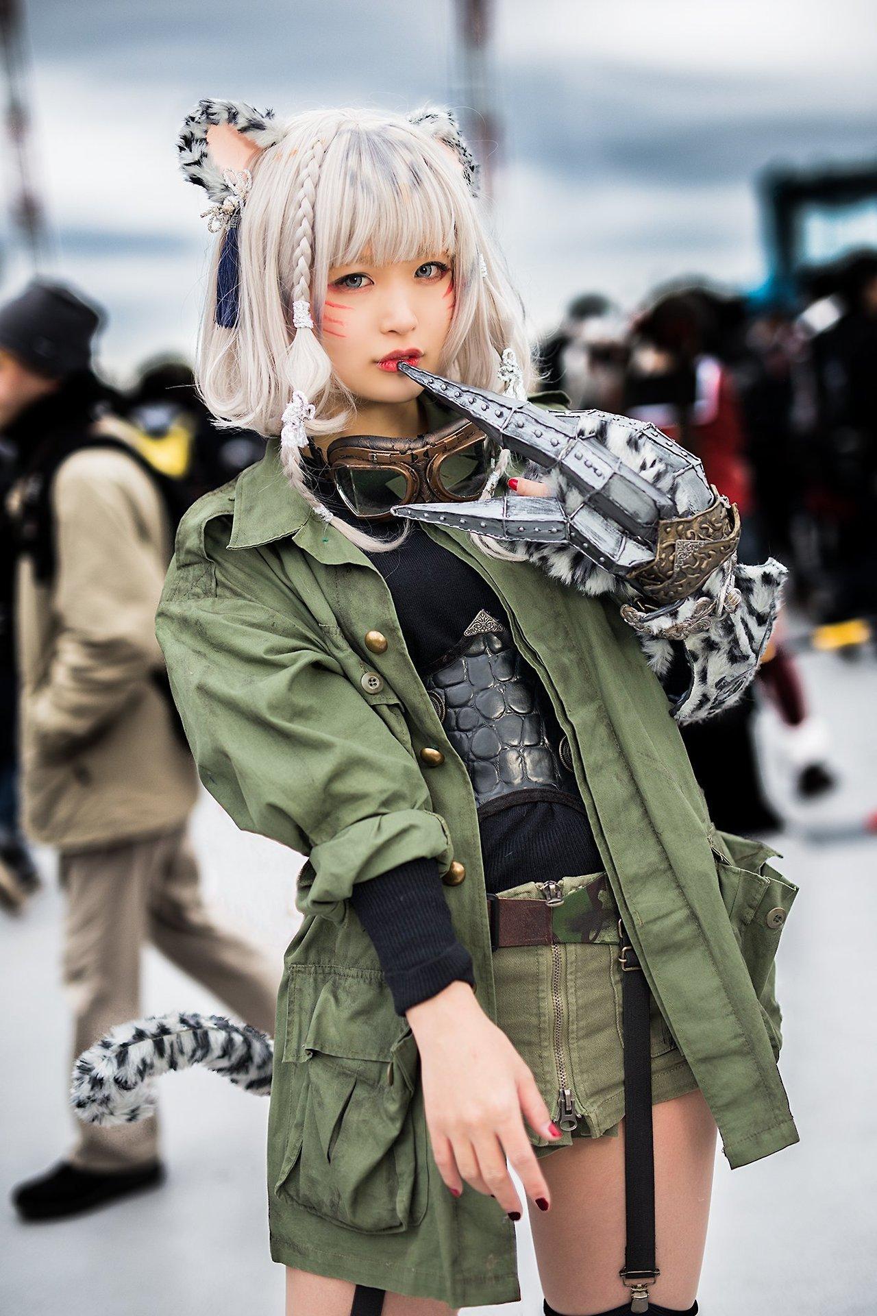 【漫展现场】那些令人称赞的cosplay福利