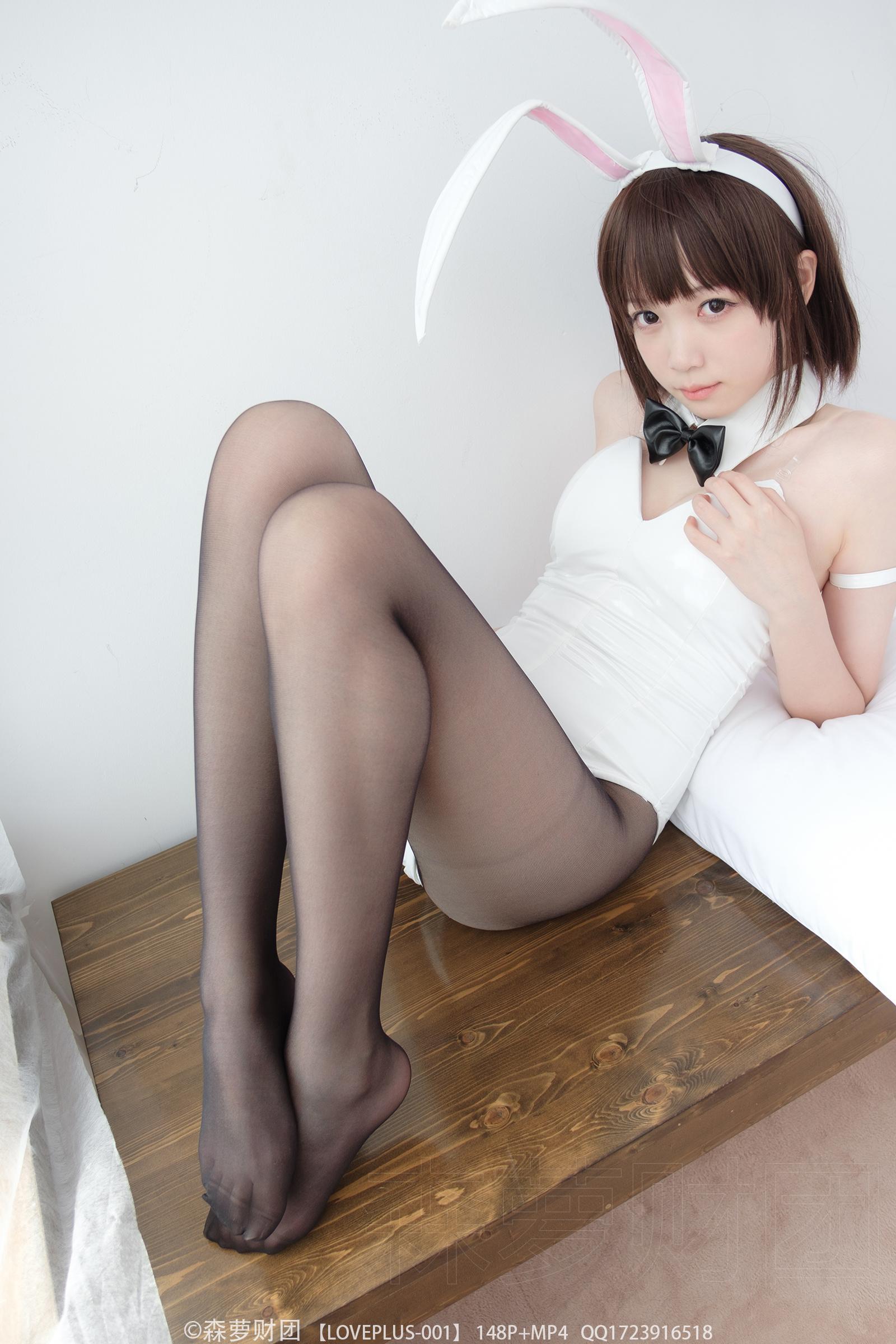 森萝财团萌妹子丝足写真:LOVEPLUS-001 美女写真-第9张