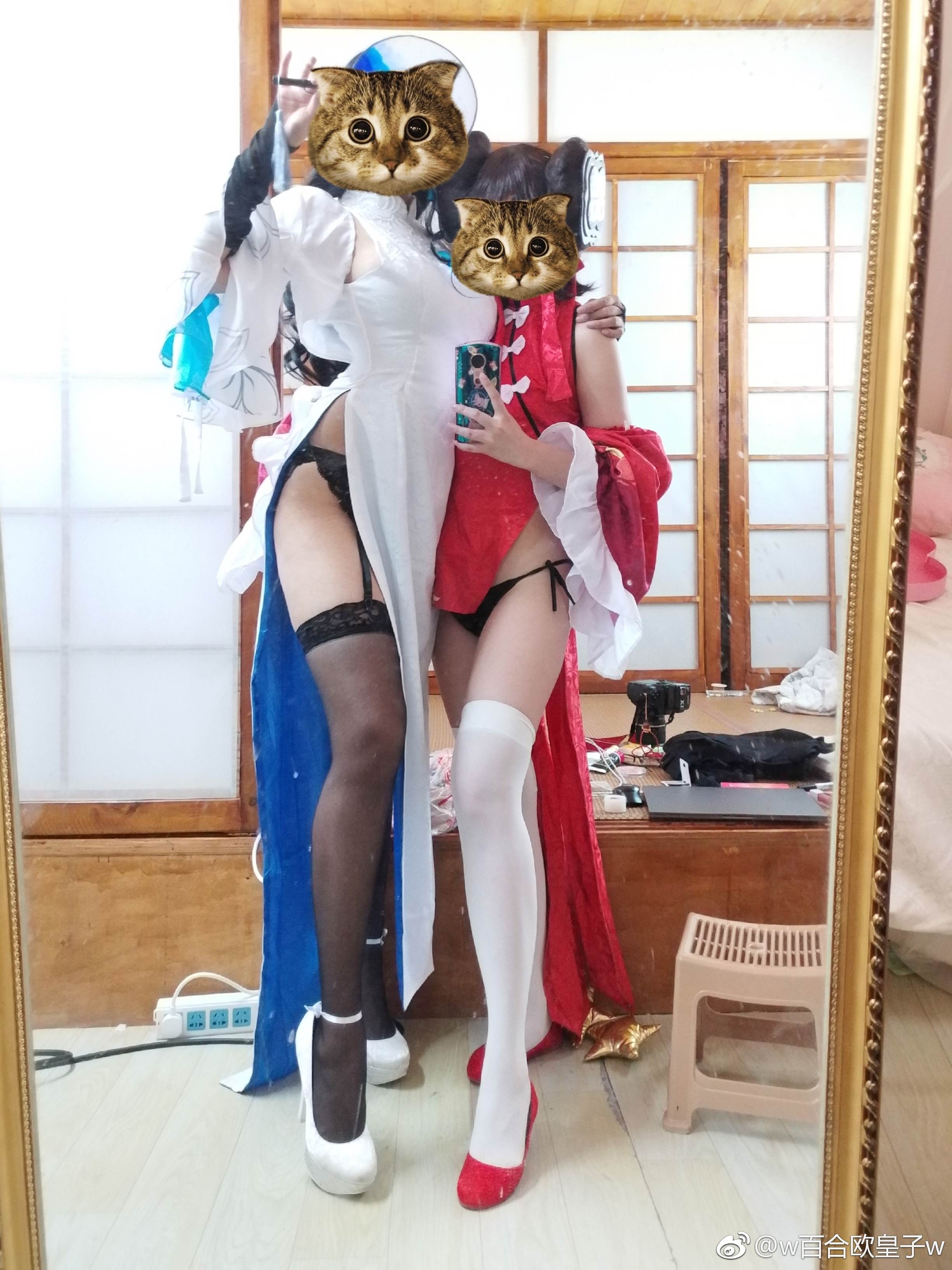 百合大法好,少女前线95.97式的旗袍(9P)