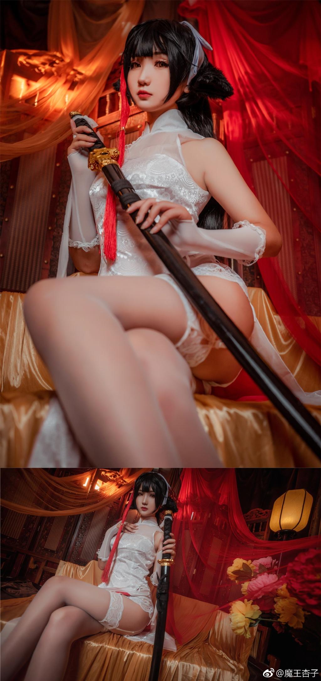 【萌妹子Cosplay】魔王杏子的碧蓝航线福利Cos大片(9P)