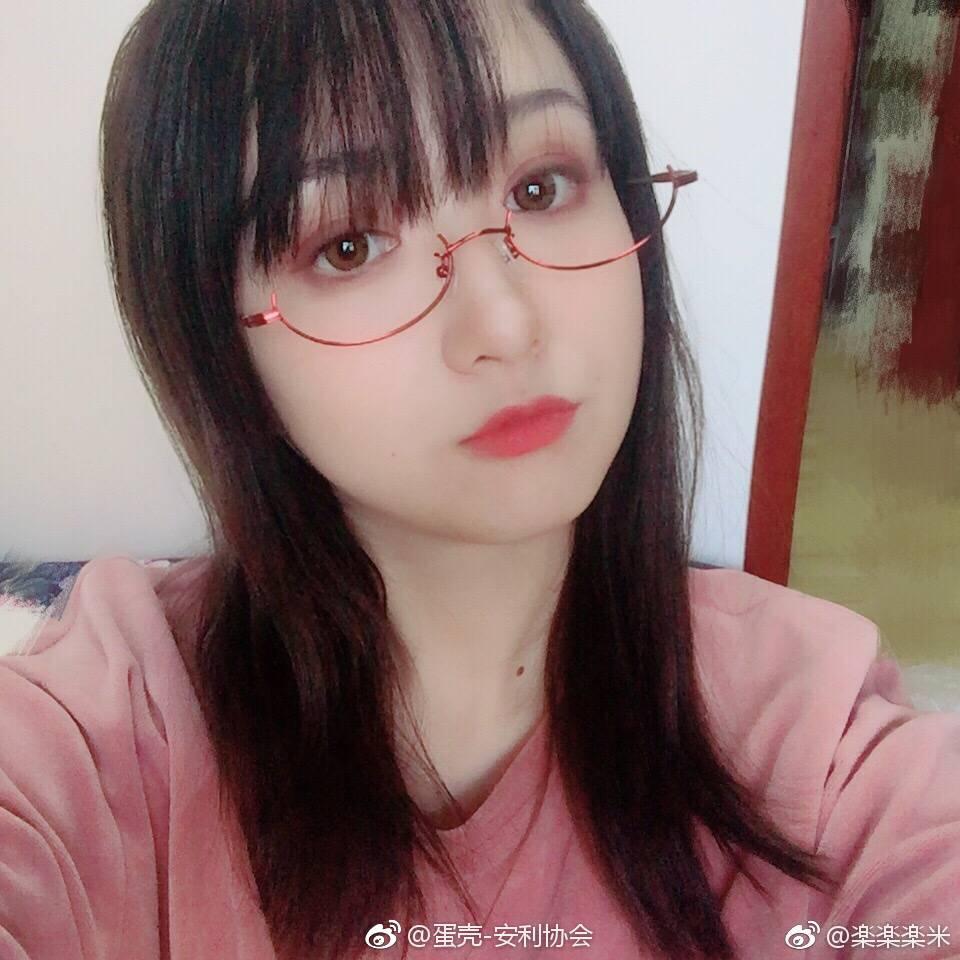 安利一波萌萌哒眼镜少女 素人自拍-第2张