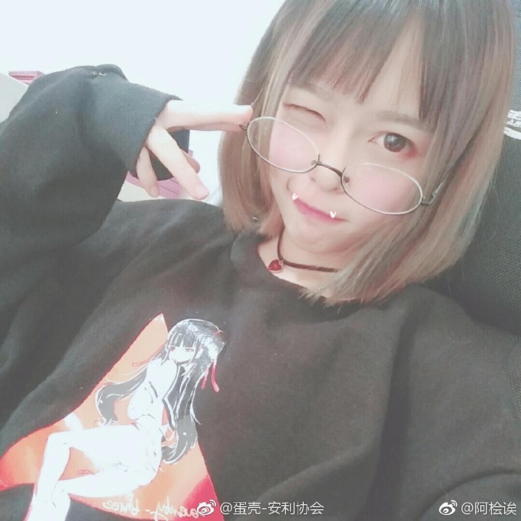 安利一波萌萌哒眼镜少女 素人自拍-第10张