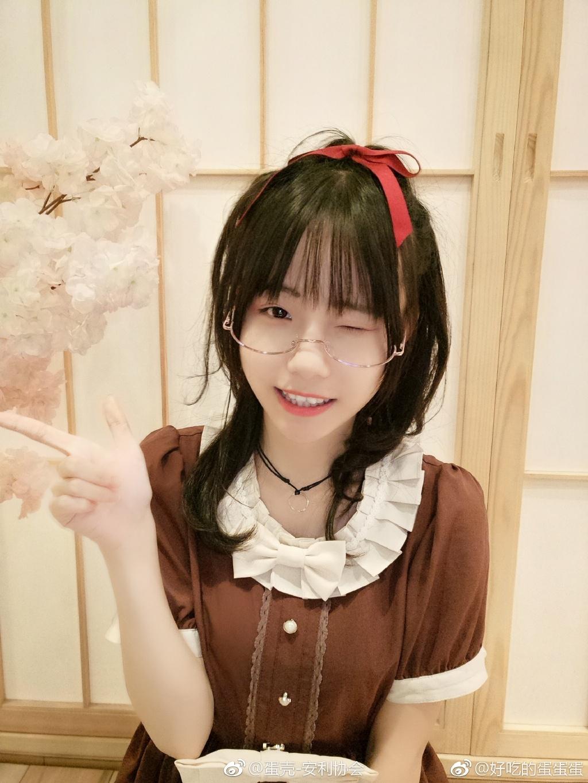 安利一波萌萌哒眼镜少女 素人自拍-第11张