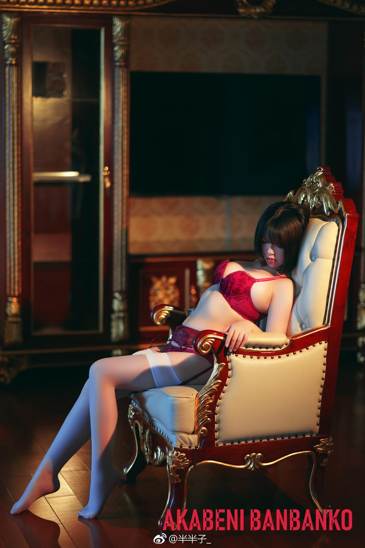 微博萌妹子美女写真:@半半子给粉丝的福利 美女写真-第2张