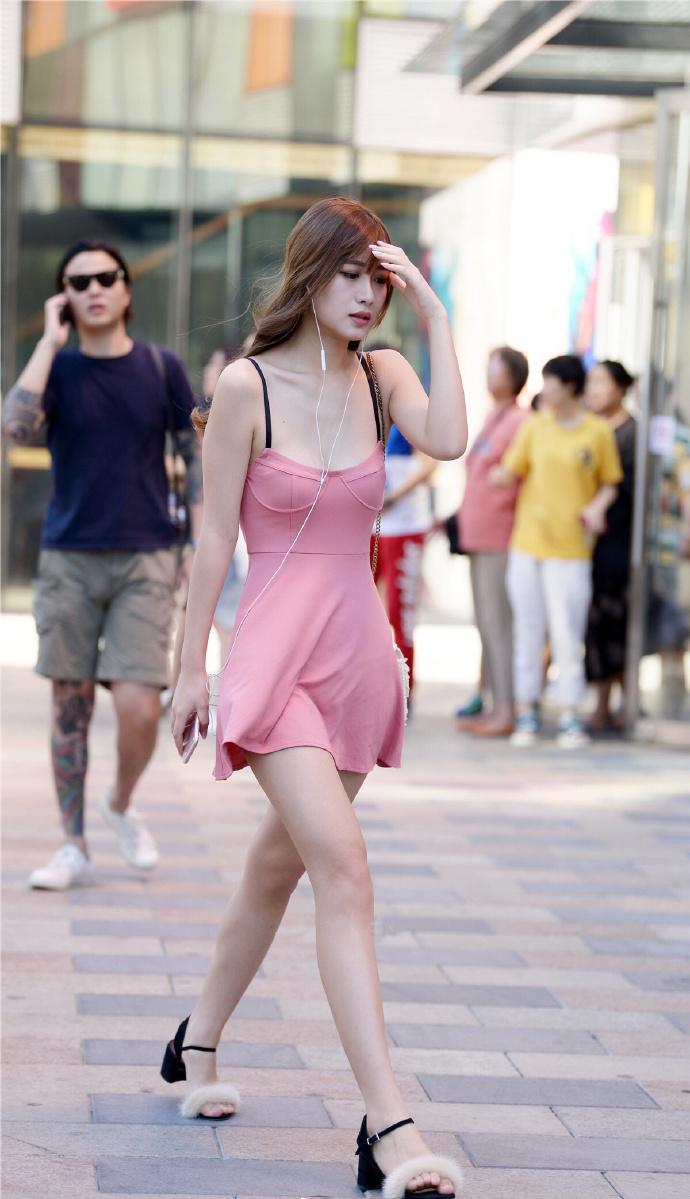 小仙女上街了