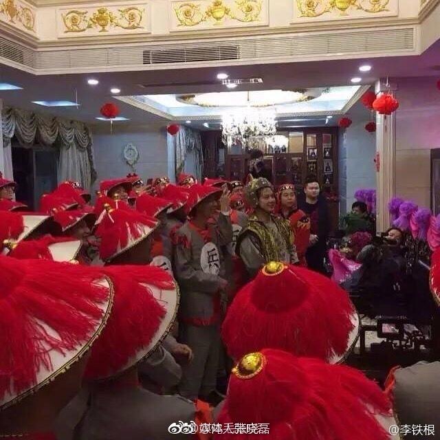 广东中山三乡镇的一场婚礼