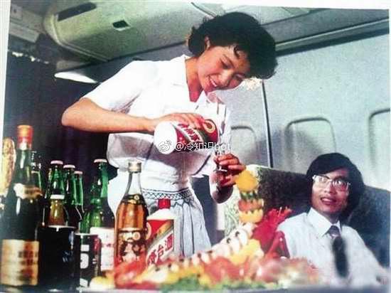 冷知识:早年间乘坐中国民航国际航班的旅客都免费赠送茅台酒1瓶-前方高能